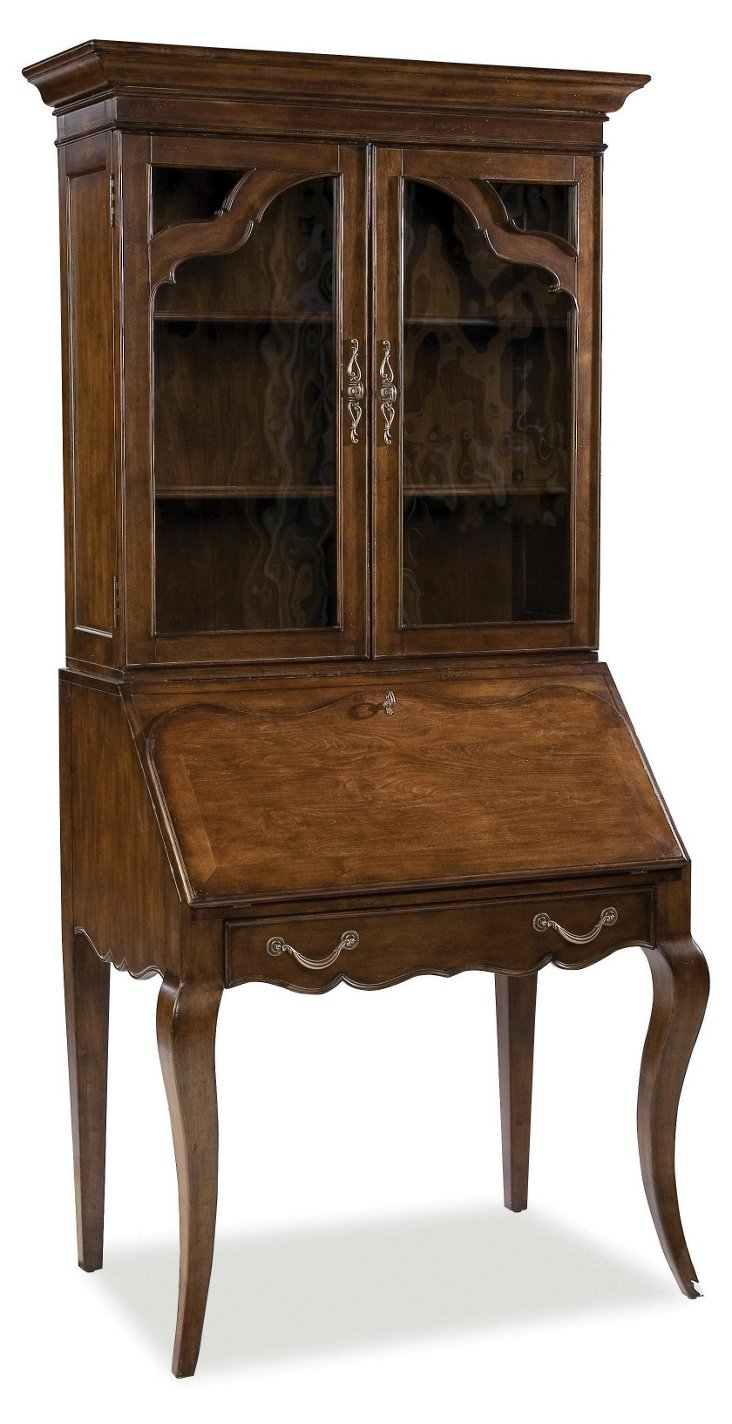 DNU, DISC Kiefer Tall Secretary Desk