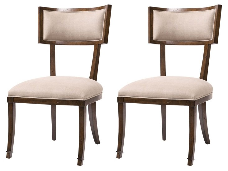 DNU, DISC Arthur Side Chairs, Pair