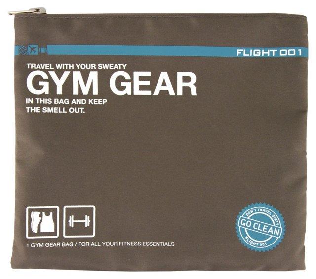 Go Clean Gym Gear Bag, Gray