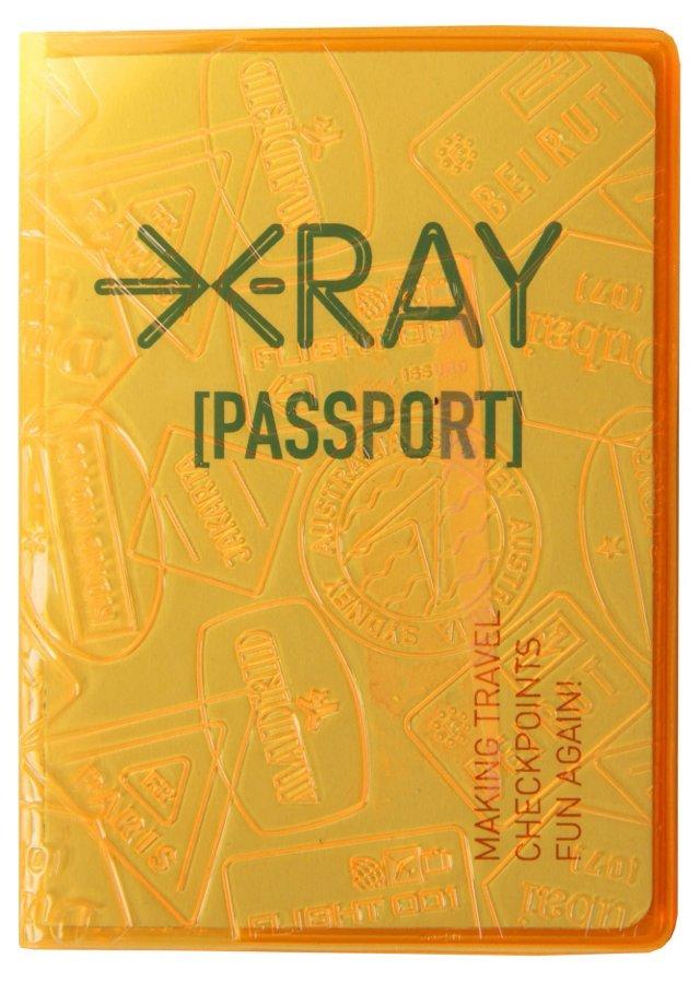 X-Ray Passport Case, Orange