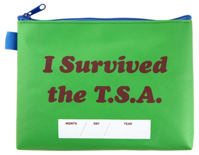 TSA Survival Pouch, Green