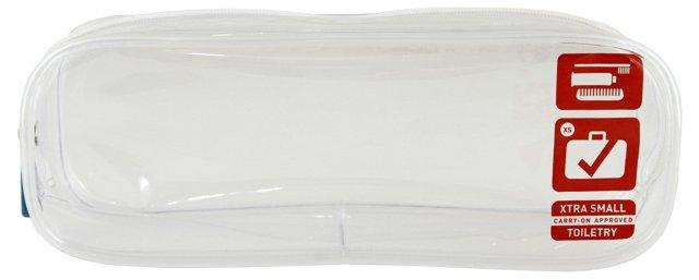 S/3 F1 Carry-on Quart Bag, Clear