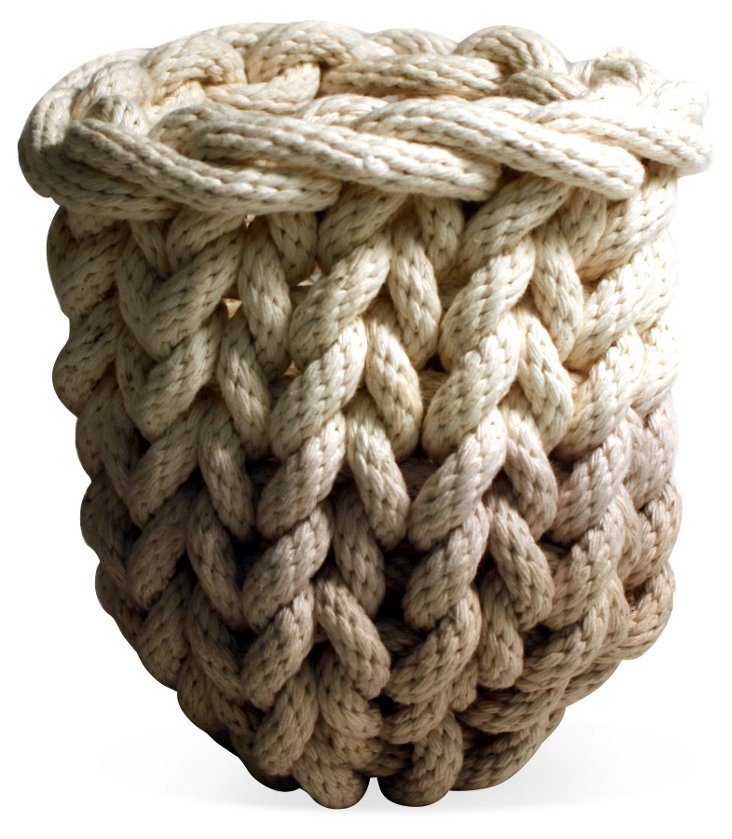 Knit Rope Basket, Small