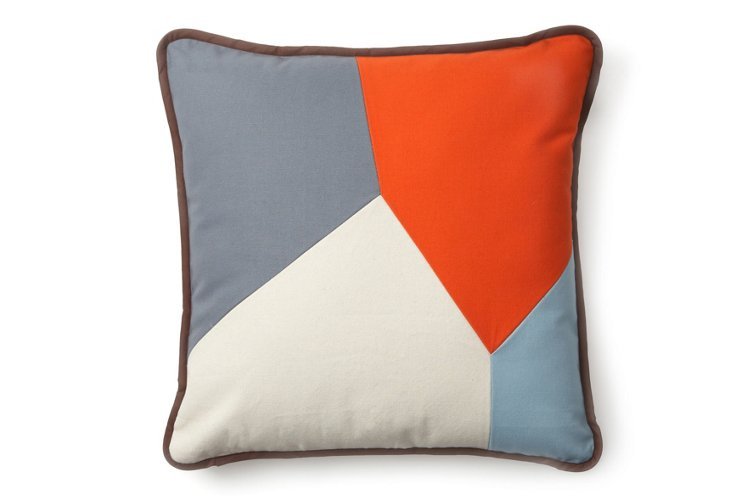 """Throw Pillow, """"Nuggets of Wisdom"""""""