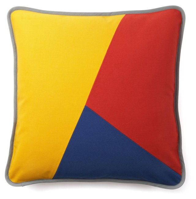 Graphic Throw Pillow, Multi