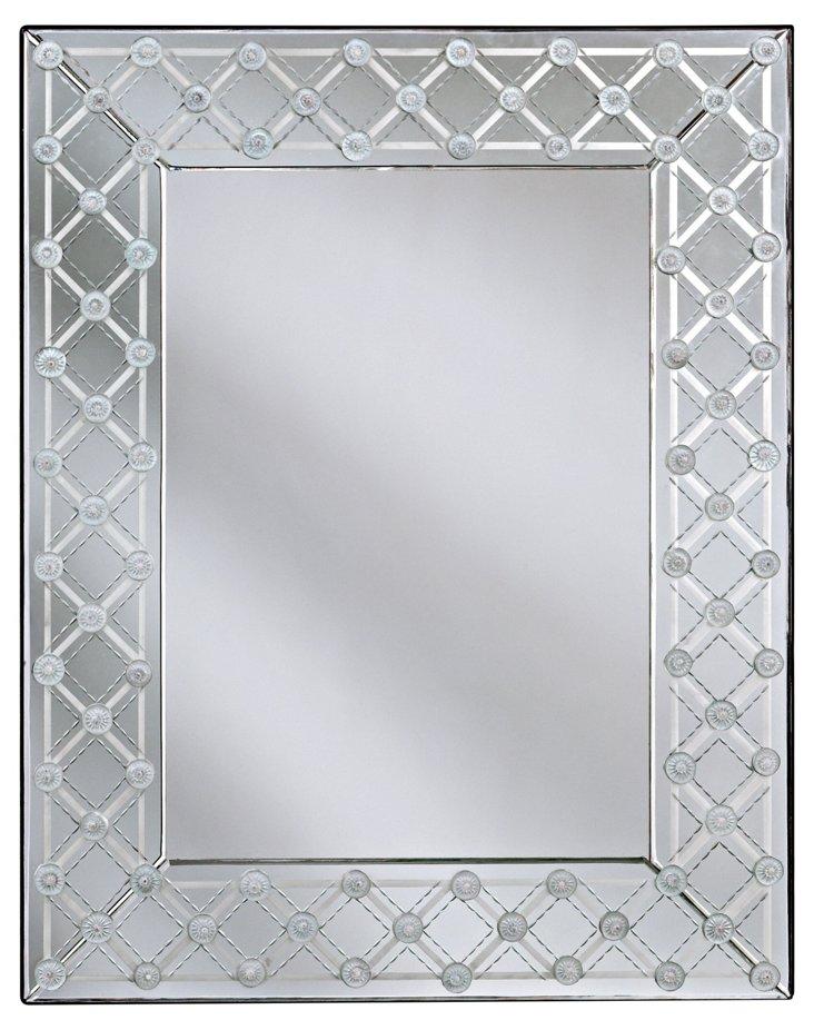 Calabria Wall Mirror, Clear