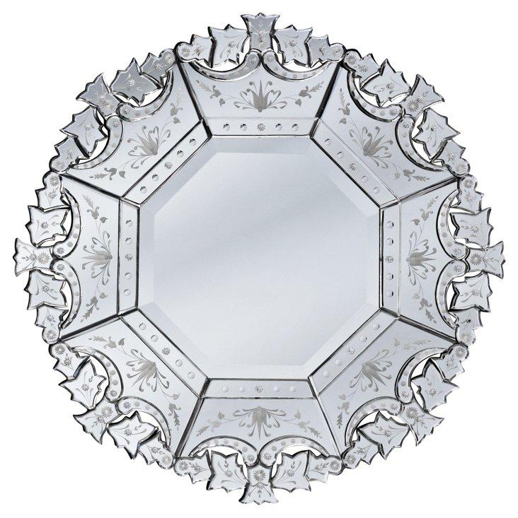 Aversa Wall Mirror, Clear