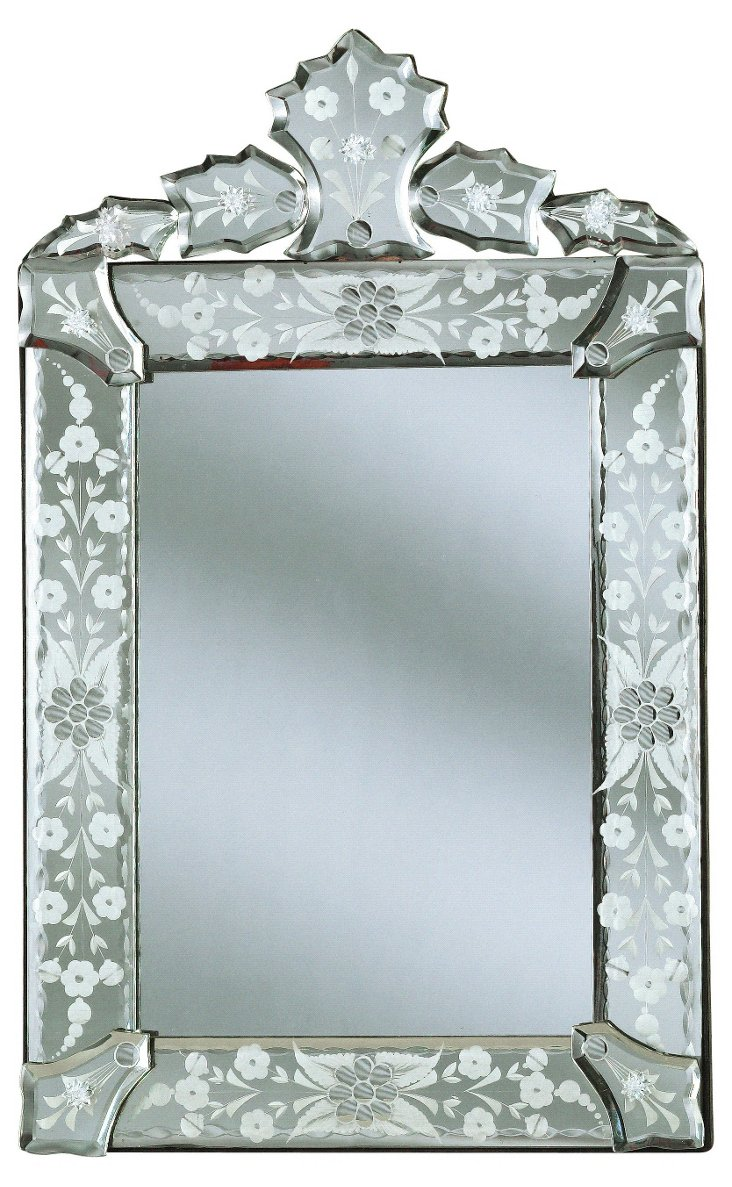 Naples Accent Mirror, Clear