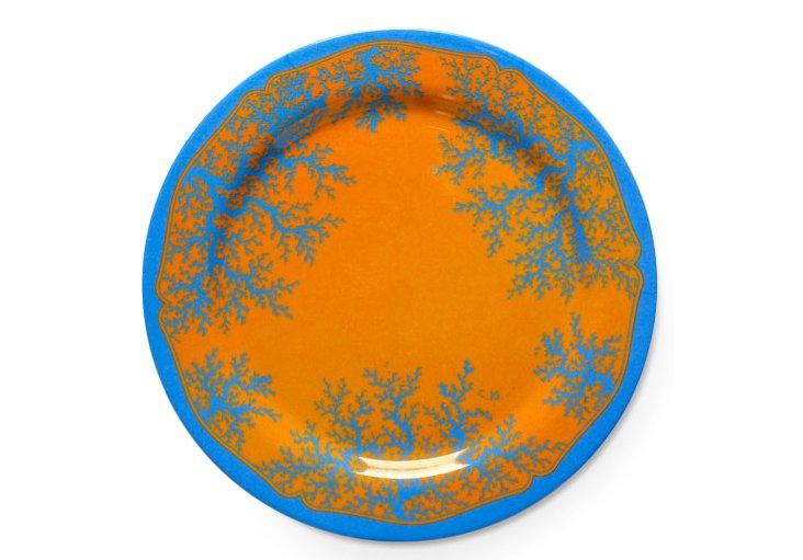 "S/4 Wilde's Sun Plates, 12"""