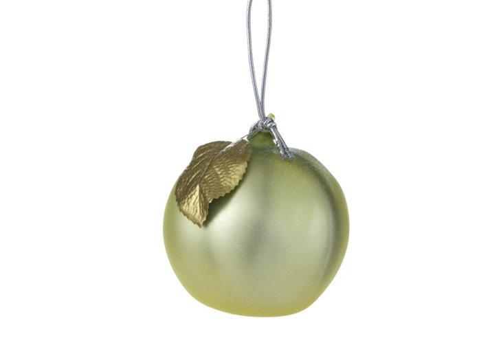 Heirloom Melon Ornament, Green