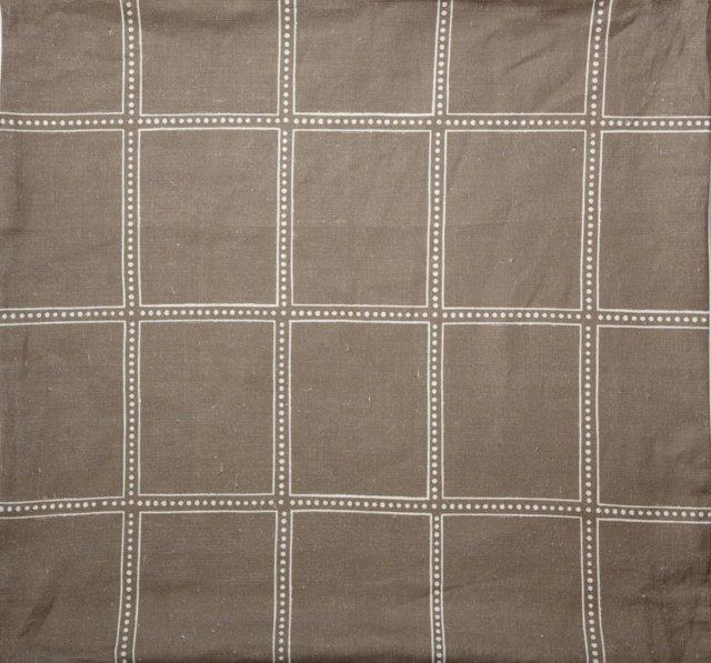 Postage Fabric, Clay, 1 Yd.