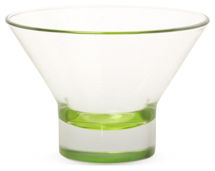 S/4 Ypsilon Dessert Cups, Green
