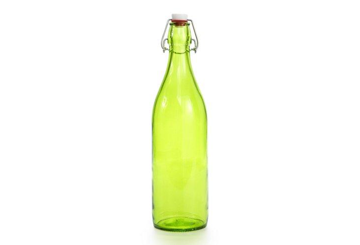 S/2 Giara Bottles, Green