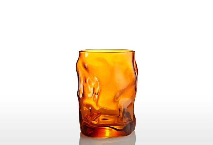 S/4 Sorgente Water Glasses, Orange