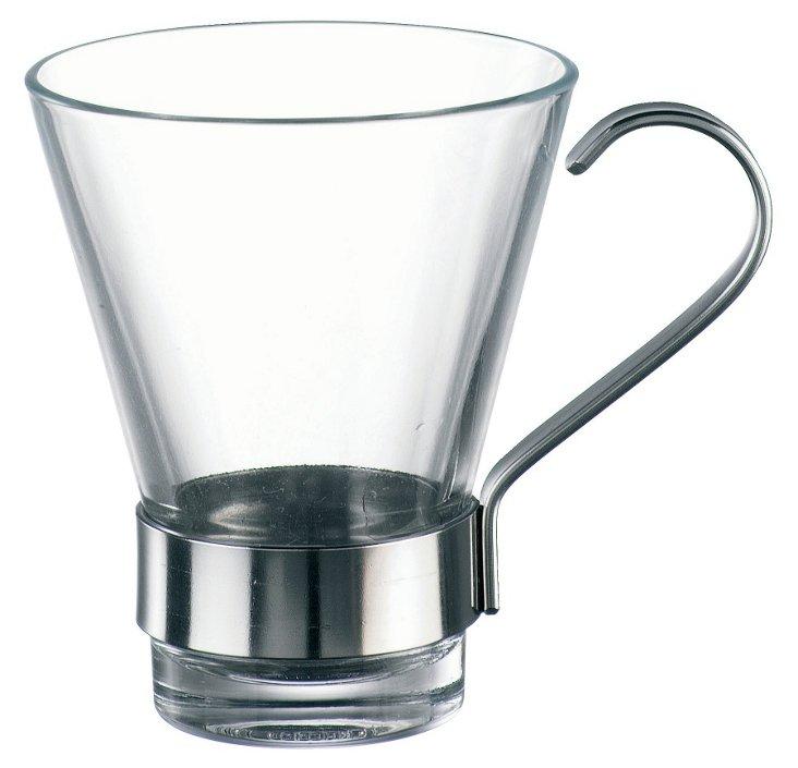 S/6 Ypsilon Espresso Glasses