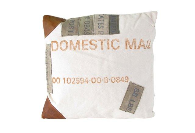 16x16 Mail Canvas Pillow