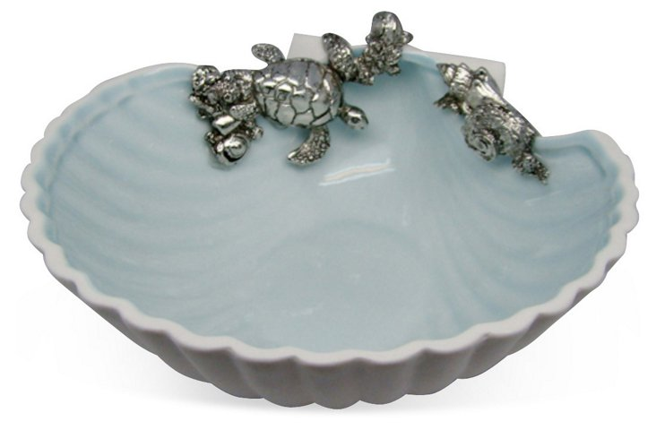 7x7 Turtle Clam Bowl