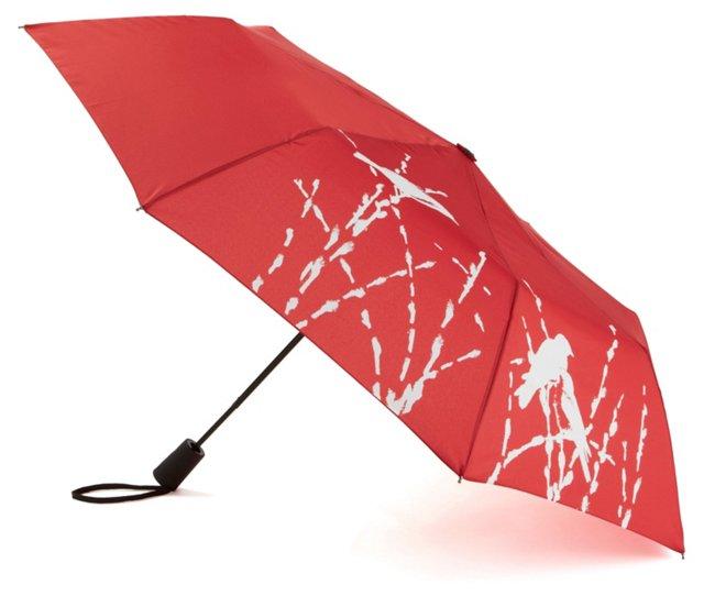 Travel Lite Umbrella, Peach Crimson