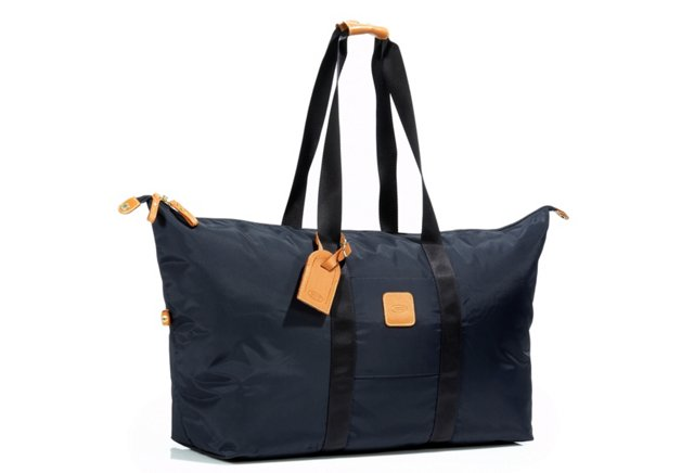 "Brics 22"" Folding Duffel, Navy"