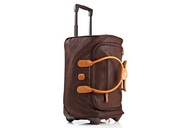 Carry-On Rolling Duffel,  Brown/Cognac
