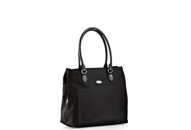 Med. Compartment Tote, Black
