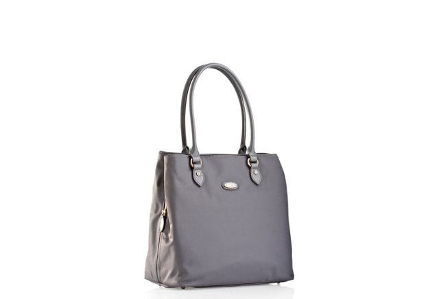 Med. Compartment Tote, Gray