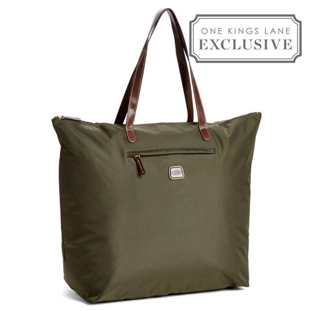 Large X-Bag Shopper, Olive