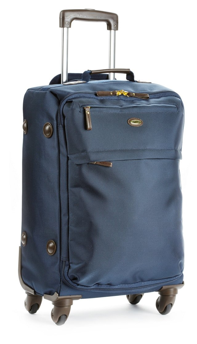 """OKL Exclusive 20"""" Carry-On Trolley, Navy"""