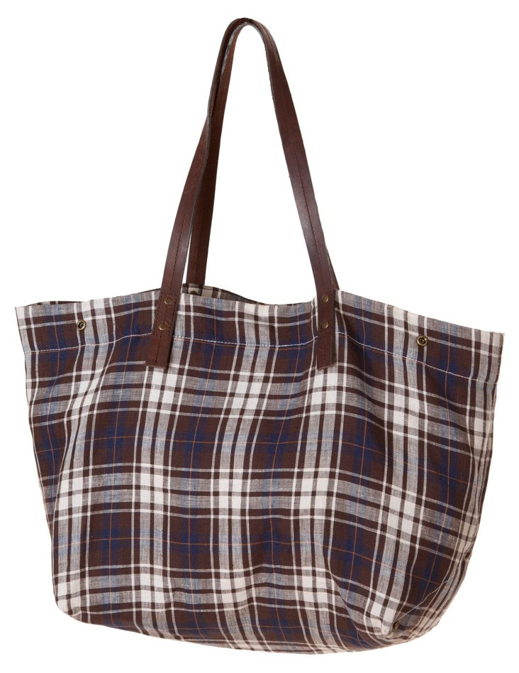 Campbell Tote, Brown