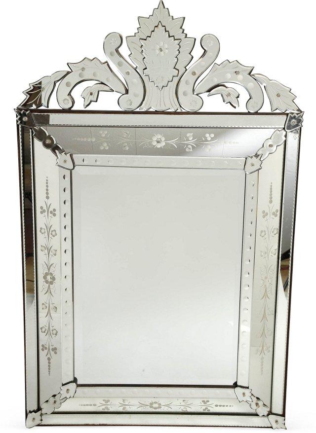 French Venetian-Style Mirror