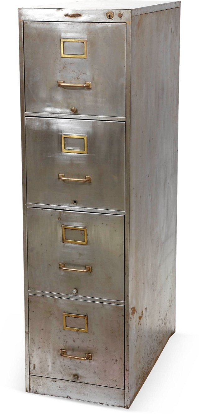 Classic 4-Drawer Steel File Cabinet