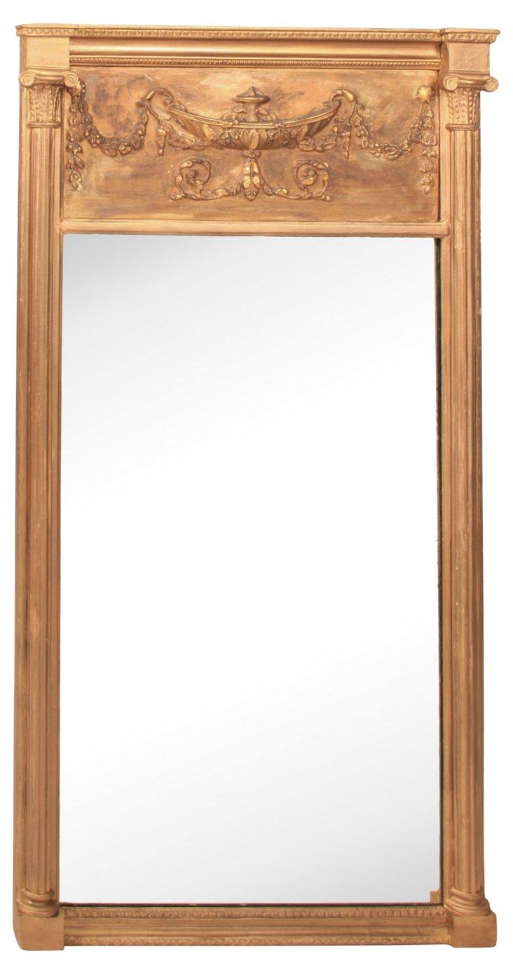 Antique Federal Gilt Mirror