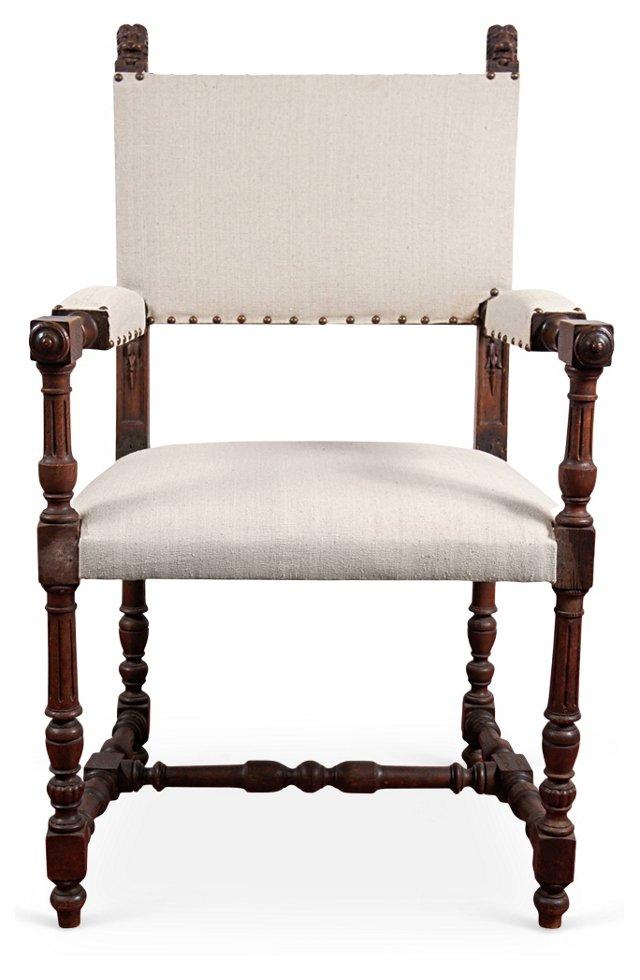 Spanish Renaissance-Style Armchair