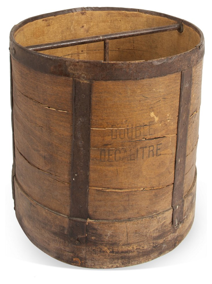 Antique French Bucket