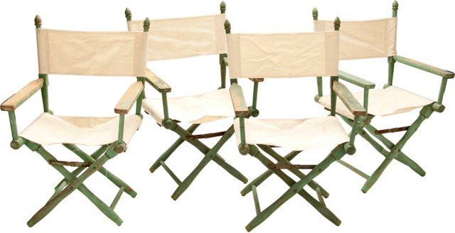 Director's Chairs, Set of 4