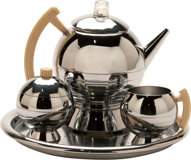 Coronet Coffee Set, 4 Pcs
