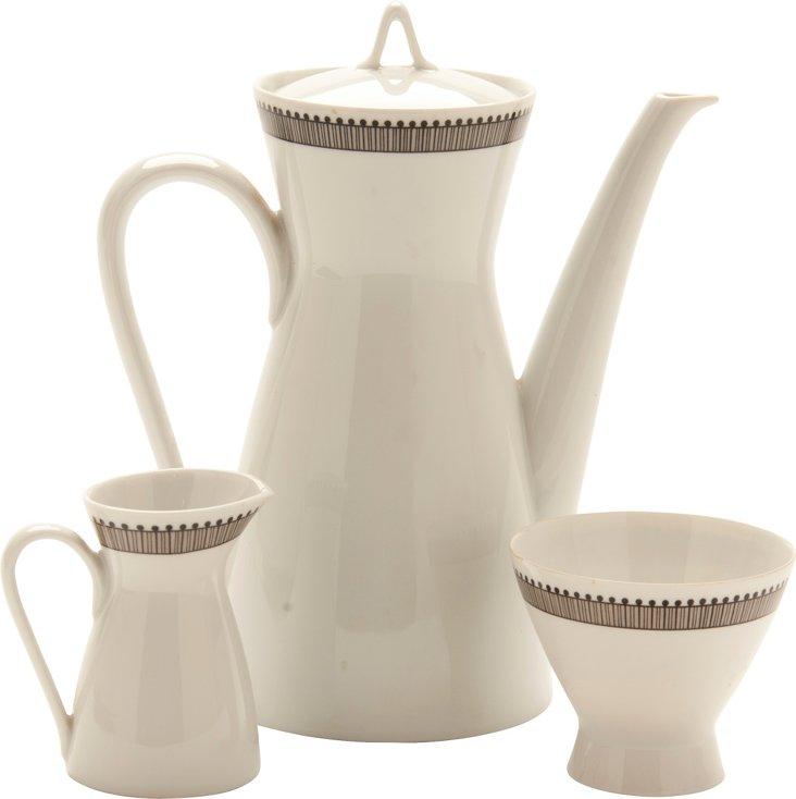 Rosenthal Coffee Set, 3 Pcs