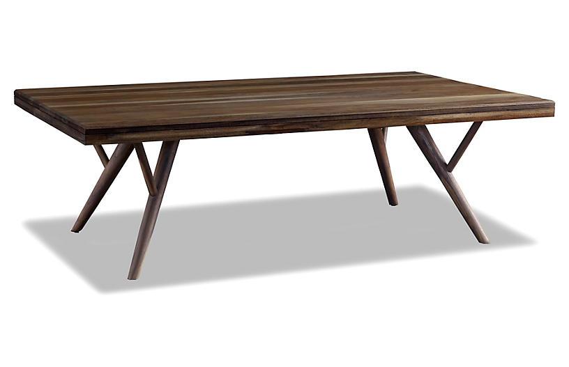 Crawford Coffee Table, Sepia