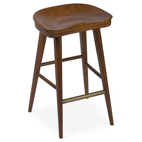 Louise Counter Stool, Hazelnut