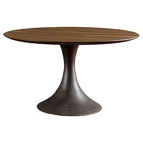 Casablanca Dining Table, Sepia
