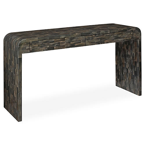Duke Console, Gray/Brown