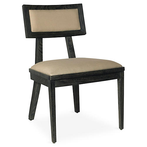 Adeline Side Chair, Mink