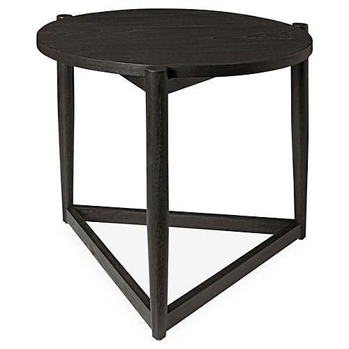 Adeline Modern Side Table, Mink