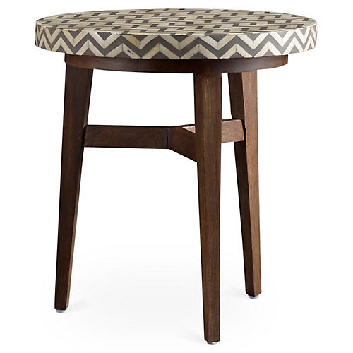 Keeley Side Table, Charcoal