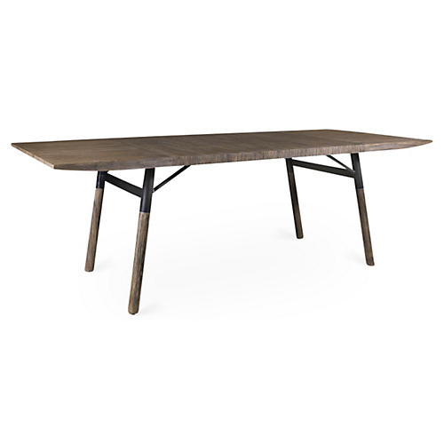 "Brienna 84"" Dining Table, Nutmeg"