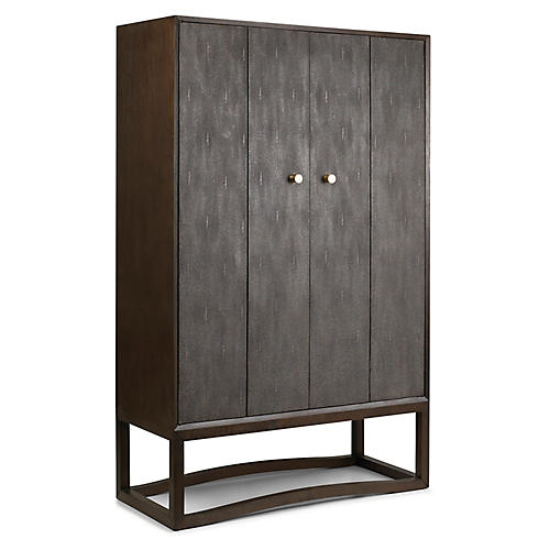 Viceroy Bar Cabinet, Tobacco