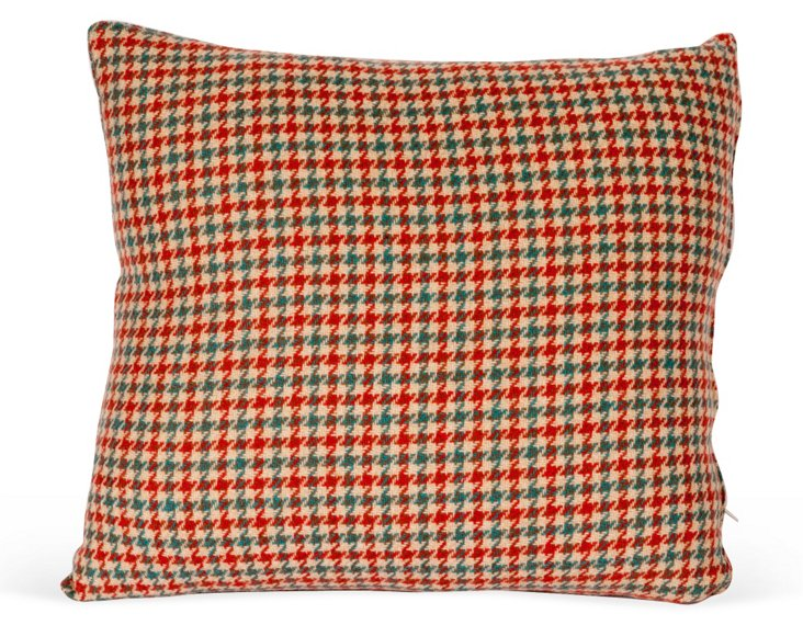 Wool Houndstooth Pillow Cover I