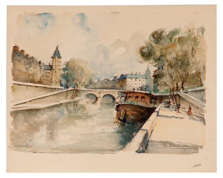 Watercolor, Canal
