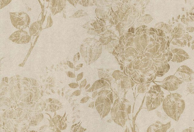 Floral Trail, Champagne/Beige