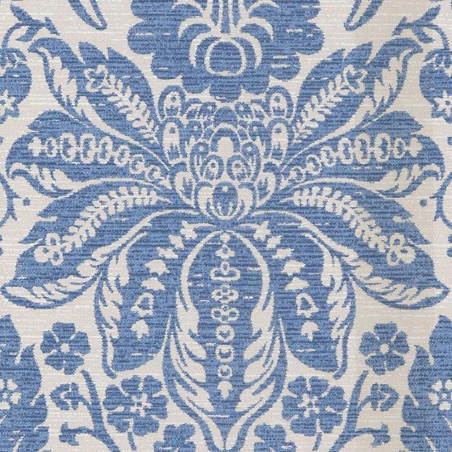 Jacobean, Blue